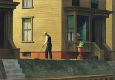 Edward Hopper (1882-1967), Pennsylvania Coal Town, 1947. Museum Purchase, 1948. Collection of the Butler Institute of American, Youngstown, Ohio.