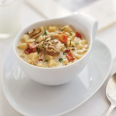 Light and Creamy Oyster Chowder with Salsify Recipe - Donna Wingate, Mary Ellen Carroll | Food & Wine