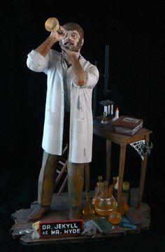 Dr. Jekyll as Mr. Hyde - Aurora Model Kit