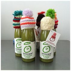 knitting campaign innocent smoothie  http://www.innocent.fr/mets-ton-bonnet/mets-ton-bonnet
