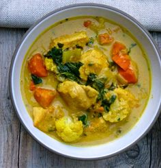 Easy Curried Chicken Thighs
