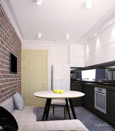 Кухня. Обычная типовая квартира. . Кухня