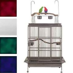 Or this would make a good cage for the macaw I want.