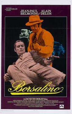 """Cartel USA de """"Borsalino"""" (1970)"""