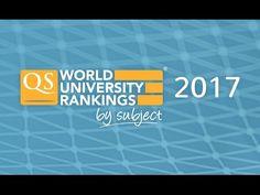 QS World University Rankings by Subject 2017 | Top Universities