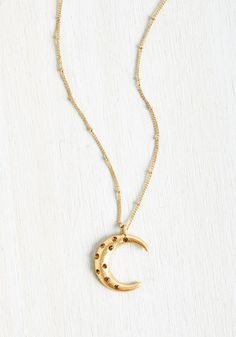 Accessories - Crescent and Accounted For Necklace