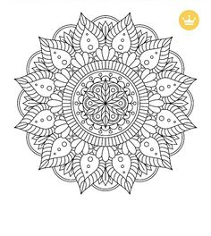 Pattern Coloring Pages, Mandala Coloring Pages, Colouring Pages, Adult Coloring Pages, Coloring Books, Trippy Drawings, Colorful Drawings, Zentangle Patterns, Mosaic Patterns