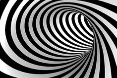 Black and white abstract vector tunnel – Stock Vector , … - schwarzes Tattoo Black And White Theme, Black And White Wallpaper, Black And White Abstract, White Art, 3d Art Drawing, 3d Drawings, Living Room Wall Wallpaper, Optical Illusion Wallpaper, Bicycle Tattoo