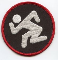 DRI- Skanker (Black) embroidered patch (ep573)