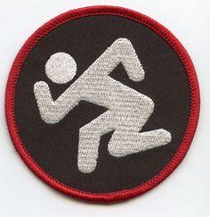 DRI- Skanker (Black) embroidered patch (ep573)