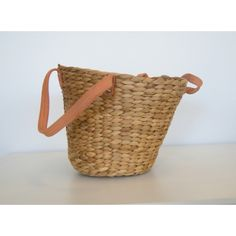 Small Straw Weave Basket.