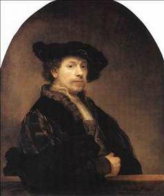 Rembrandt self portrait - Google Search