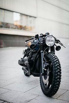 BMW R80 scrambler