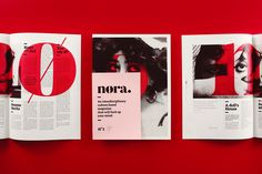 "via Muzli design inspiration. ""Weekly Inspiration for Designers is published by Muzli in Muzli - Design Inspiration. Editorial Layout, Editorial Design, Graphic Projects, Behance, Types Of Art, Type Art, Print Magazine, Art Direction, Layout Design"