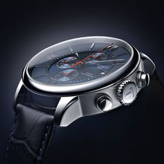 Tissot's traditional timepiece Chemin des Tourelles Automatic Chronograph comes in Bucherer BLUE EDITIONS with a new, contemporary look.