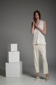 spodnie LOUNGE ecru