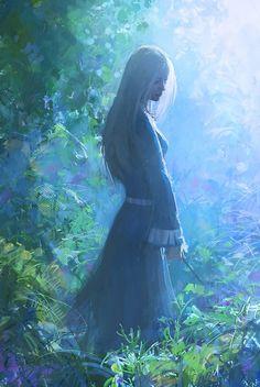 decoherent:  Sorceress by Sanchiko - Alexander