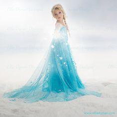 Disney Frozen Inspired Children's photography Queen Elsa