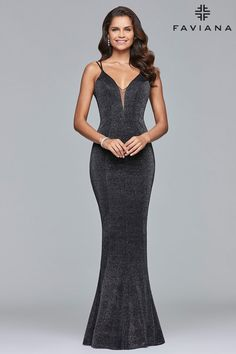 Faviana 10076- Formal Approach Prom Dress