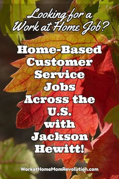 Jackson Hewitt is hiring seasonal home-based customer service in AL, CO, AZ, CA, CT, FL, GA, IL, IA, KS, KY, MO, NC, NJ, NM, NY, PA, SC, TN, TX, and, VA. Flexible work at home job! If you're seeking a work from home position that's flexible, with an established company, this might be the perfect telecommute position for you! You can make money from home!