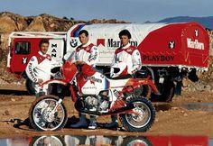 Bmw Team - Paris Dakar 1985