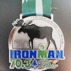 2016 IRONMAN 70.3 Coeur d'Alene Medal