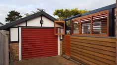 Cedar Shutters, Garage Doors, Shed, Exterior, Outdoor Structures, Outdoor Decor, Home Decor, Decoration Home, Room Decor