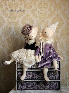 Купить Амели - авторская кукла, авторская игрушка, авторская работа, интерьерная кукла, ручная работа