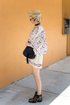 Little Blonde Book by Taylor Morgan | A Life and Style Blog : Free People Embroidered Dress