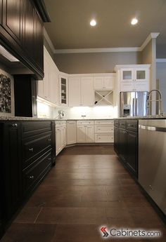 Best TwoToned Kitchen Cabinets Images On Pinterest In - Kitchen cabinets trenton nj