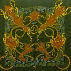 Hermès Foulard instruction du roi