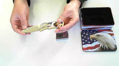 Coffret Aigle USA - couteau + briquet zippo