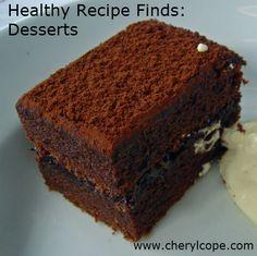 Healthy #Recipe Finds: #Desserts http://www.cherylcope.com/healthy-recipe-finds-desserts