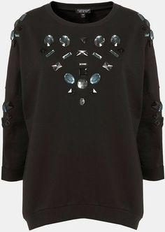 Embellished Sweatshirt
