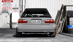Its not often we talk about Honda's now adays. I suppose thats due to the fact that everything's been done and well. FWD just got boring to most of us once we found the RWD magic. Honda Civic 1995, Honda S, Civic Eg, Honda Civic Hatchback, Perfect Eggs, Jdm Cars, Fresh, Car Stuff, Wheels