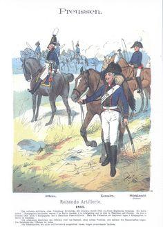 Vol 01 - Pl 23 - Preußen. Reitende Artillerie. 1805.