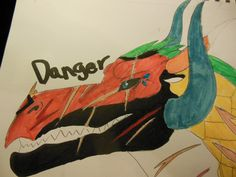 danger for my friend super nova of the spacewings drawn by me shila liner