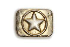 VaModa GÜRTELSCHLIEßE WECHSELSCHLIEßE BUCKLE SKY STAR GOLD 4CM