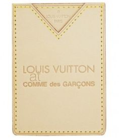 LOUIS VUITTON at COMME des GARCONS : Leather Card Case | Sumally