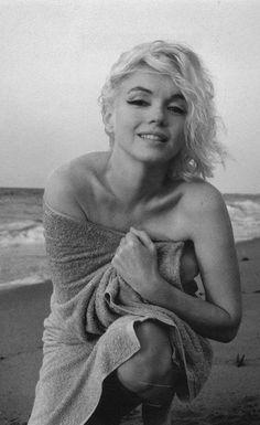 MM on the beach