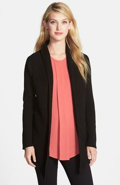 Vince Camuto Open Front Cardigan (too frumpy?)