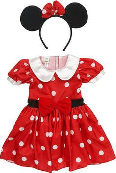 Kinley wants to be minnie mouse for halloween and wants a minnie mouse bday party. shopstyle.com: Babies R Us Disney Girls' Minnie Mouse Costume -Toddler