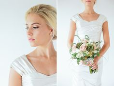 simple modest wedding gown