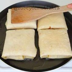 Hayırlı Ramazanlar herkese Bundan sonra ramazan için menu önerileri bol bol gelecek inş👐 Bugün ki tarifim sahur için oldukça pratik ☺ ➖➖➖➖➖➖➖➖ KREP BÖREK 2 yumurta 1,5 su bardağı süt Yarım su bardağı su 1 tatlı kaşığı tuz 1 çay kaşığı pulbiber 2 su bardağı un 2 yemek kaşığı sıvıyağ Arası için Kaşar peyniri Beyaz peyniri Hazırlanışı Yumurtayı çırpın. Diğer krep malzemelerini de ekleyip karıştırın. Pürüzsüz olsun. .Orta ateşte arkali önlu pişirin. Çok kızarmadan alın. Her birinin ortasına…