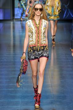 SPRING 2012 READY-TO-WEAR D&G
