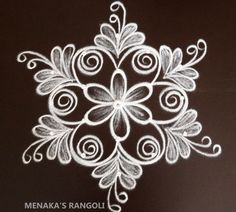 Rangoli Side Designs, Simple Rangoli Border Designs, Rangoli Designs Latest, Free Hand Rangoli Design, Small Rangoli Design, Rangoli Patterns, Rangoli Designs Diwali, Rangoli Designs With Dots, Beautiful Rangoli Designs