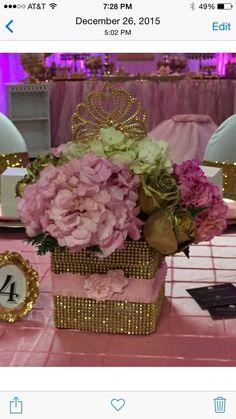 Princess brianna birthday party | CatchMyParty.com