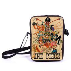 Anime One Piece / NARUTO Crossbody Bag Messenger Bag Boys School Bags Kids Shoulder Bags For Snacks Children Schoolbags Bookbag