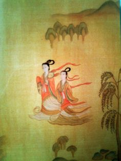 big size card】古典绘画系列Chinese Class Painting Series.洛神赋图Nymph of the Luo River.东晋,顾恺之Gu Kaizhi ,Dong Jin Dynasty .