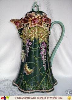 Fantastic Antique Chocolate Pot!